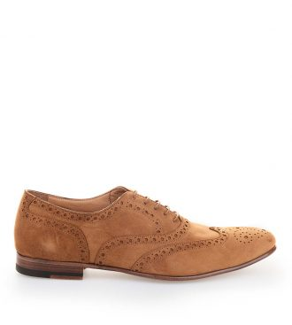 suede oxford brogues