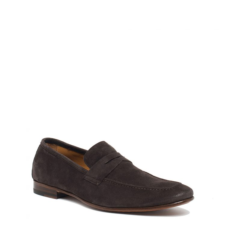 suede loafers