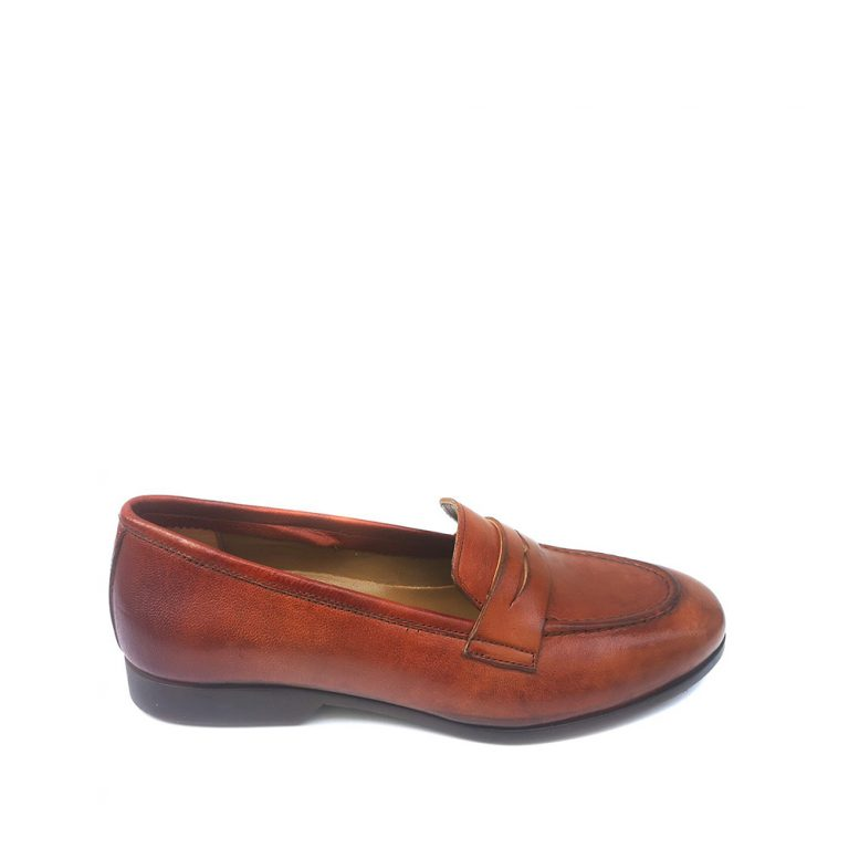 smooth calfskin loafers