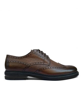 tumbled derby brogues